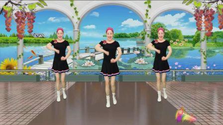 蓝天云广场舞 动感健身舞 我到底那里有错 正背面示范附动作分解教学