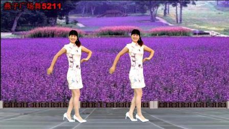 燕子广场舞5211 兰花草 旗袍双人版 经典老歌 好听好看