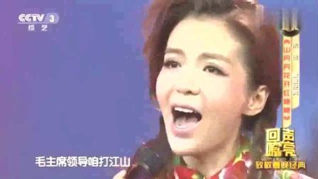 央视花旦朱迅又来了, 当红歌手恐怕又有压力了