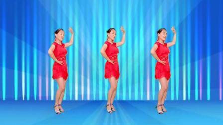 点击观看《玫香广场舞 一曲相思 32步恰恰》
