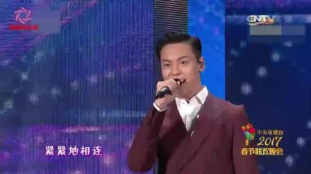 鹿晗与陈伟霆合作演唱《爱你一万年》, 不一样的
