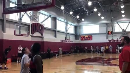 美国男篮训练营迎来首个训练日, 杜兰特威少合练