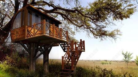 国外牛人打造树屋旅馆当地取材, 合伙人: 梦幻般