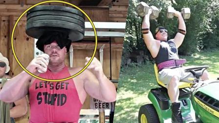 即搞笑又搞怪的疯狂举重运动员——Tom Finn卖萌健