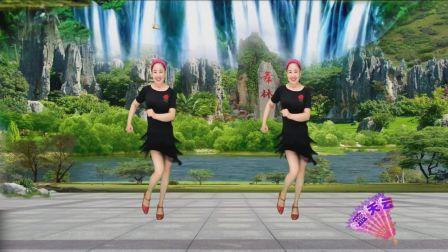 蓝天云广场舞 动感32步视频分解教学 做最好的自己DJ 正背面示范