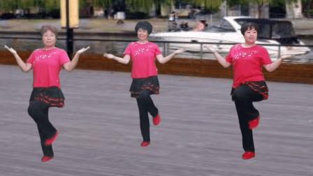农村姐妹广场舞《老婆最大》音乐动感时尚, 舞姿