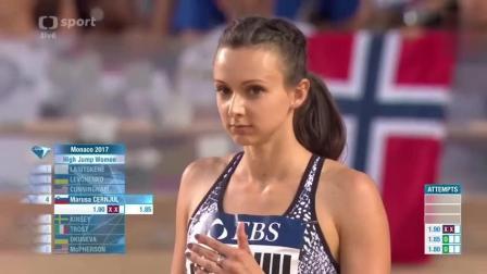 史上最萌美女跳高运动员, 1.93米的身高还超级可