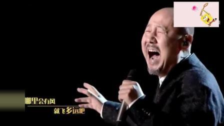 魔性神曲, 腾格尔改编演绎《隐形的翅膀》张韶涵