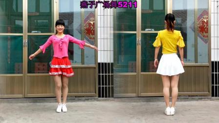 点击观看《燕子广场舞5211经典老歌 社员都是向阳花 正背面演示 学起来更简单》