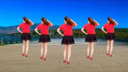 玫香广场舞新出的32步步子舞视频 火火的情郎 五人版 32步