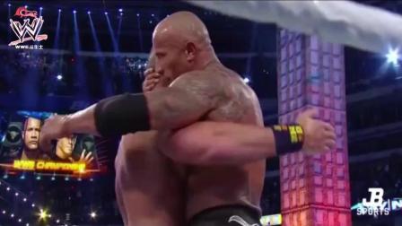 WWE约翰·塞纳对巨石强森, 世界大战的摔跤冠军29次!