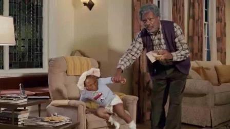 爆笑方言: 小孩在家的恶作剧, 差点把爷爷气晕