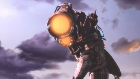 擎天柱袭击人类军事基地,拿起枪就打,原来你才是坏蛋!