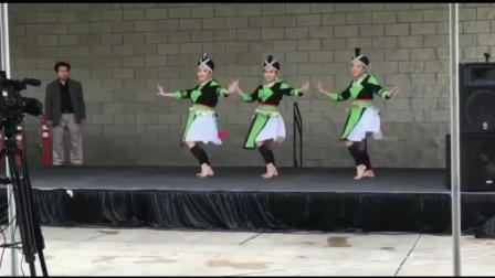 苗族歌曲舞蹈《假如你是一朵花》 高清版