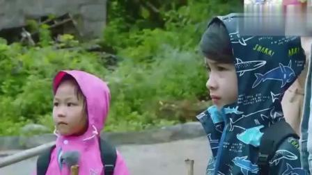 蔡少芬说普通话太搞笑, 两个女儿也跟着说, 这真是被亲妈带跑了!