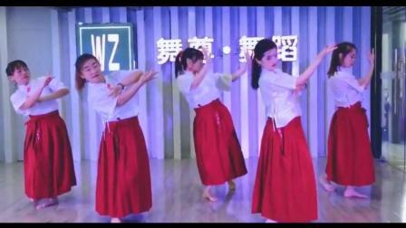 中国风爵士舞《浪人琵琶》听着浪人弹着断了弦的琵琶