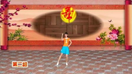 阿娜广场舞 你给的幸福 0基础健身广场舞正反面 舞蹈分解视频教学