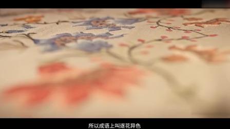 传统织衣技术的方法 现代技术是无法取代的 这就叫逐花异色