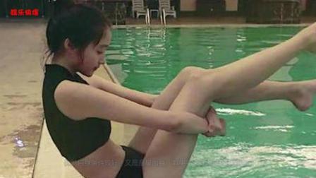 看了关晓彤的泳衣照, 再看宋祖儿的, 网友: 还是热巴的最漂亮