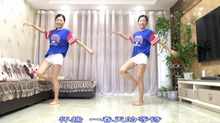 新生代广场舞 海棠花开 一跳鬼步舞就着迷的妹子!