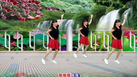 点击观看《代玉广场舞 黄土高坡 经典怀旧32步广场舞视频分解教学 正背面示范》