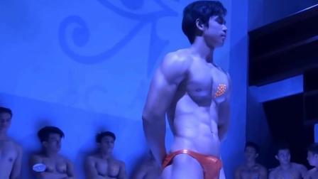 泰國肌肉男模選秀, 完美身材一覽無余