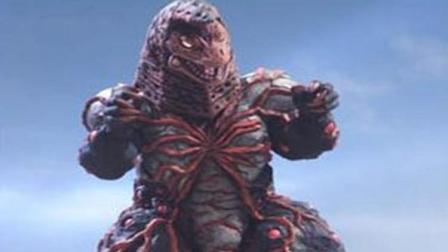 怪兽的皮太厚了! 迪迦奥特曼打了两次都没消灭掉!