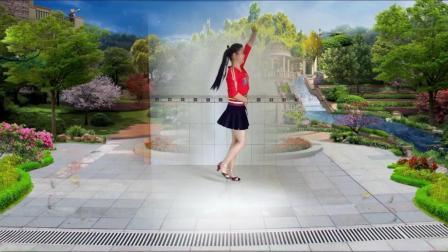 点击观看蝶舞芳香广场舞 爱的路上千万里 适合在重庆观音桥广场跳的坝坝舞视频