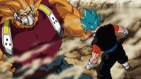 超龙珠英雄: 超赛黄金巨猿变身, 连超蓝贝吉特都被打的解体!