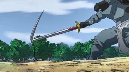 钢炼:艾尔遭俩人围攻,把鞋子的变成剑,剑头还能拐弯攻击