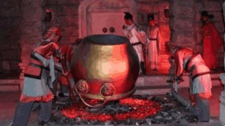 朱高煦模仿朱棣造反夺位, 结局不同, 被扣铜缸内活活烤死