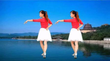 玫香广场舞 我在红尘中遇见你 晚上一起到重庆大礼堂跳坝坝舞可好!