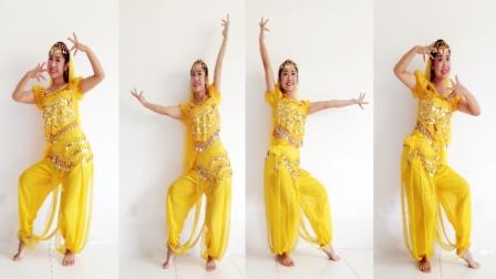 京京广场舞 天竺少女 印度风舞蹈 感觉娶了个新疆媳妇
