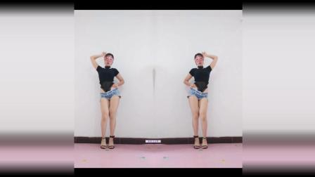 冰冰自由舞 高挑身材跳健身舞越跳越美!