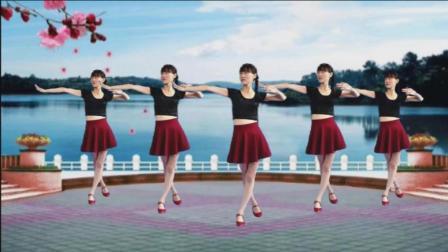 阳光广场舞 不做你幸福的玫瑰 在观音桥跳我最爱的广场舞视频
