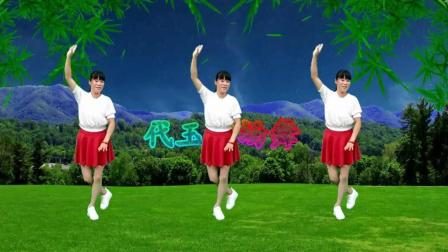 代玉广场舞 昨夜的雨今夜的你 动感时尚32步的重庆坝坝舞视频 简单易学适合初学者