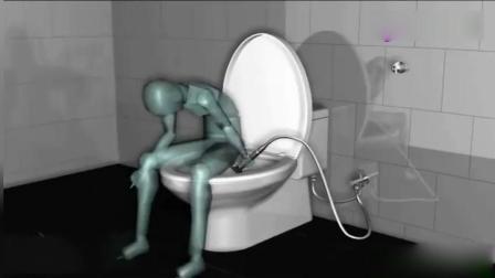 上厕所都不用纸了, 换这种水洗的方式, 你能接受