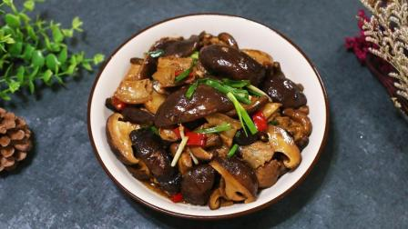 香菇炒肉怎么做才好吃, 饭店大厨教你一个小技巧, 好吃到停不下来