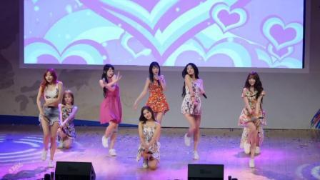 清纯可爱风格的韩国女团Lovelyz美女现场热舞