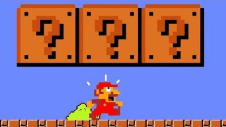 超级玛丽: 马里奥超搞笑动画 大叔再也顶不了砖