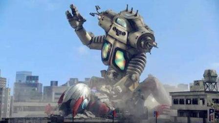机械怪兽内部构造复杂! 明明被奥特曼打败了, 内部却还在运转?
