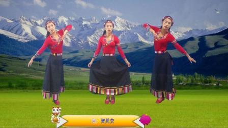 红豆广场舞《云朵上的拉萨》藏族舞
