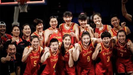 17分惊天逆转! 中国女篮世界杯战胜加拿大, 下场