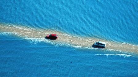 全球唯一要求全速通过的路, 一天只出现2次, 慢了就是死路!