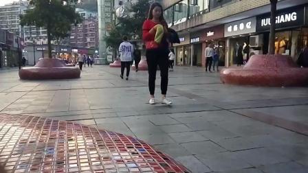 慢动作街拍
