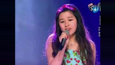 《中国好声音》开心的小女孩已经唱完, 哈林兴奋