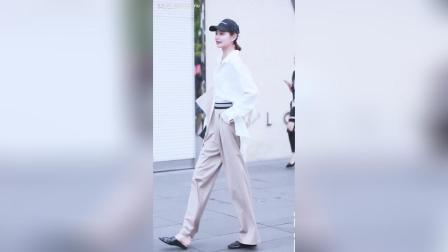 时尚街拍, 拥有逆天大长腿的气质型小姐姐~