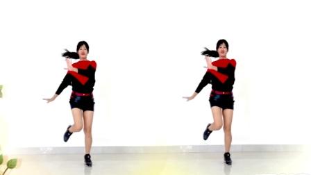 点击观看阿采广场舞分解教学 爱拼才会赢 老歌听不够 简单动感32步广场舞视频教程视频