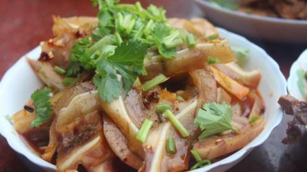 教你四川美食之凉拌猪耳朵的家常做法, 清脆可口, 麻辣鲜香