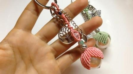 方法绳编串珠,v方法教程编织钥匙花型链的手工丐帮pvp视频教学图片